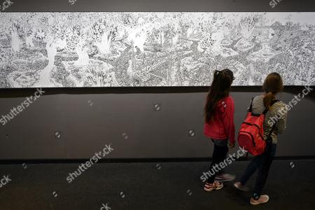 Editorial photo of Switzerland Comic Festival - Sep 2014