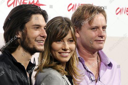 Ben Barnes, Jessica Biel and Director Stephan Elliot