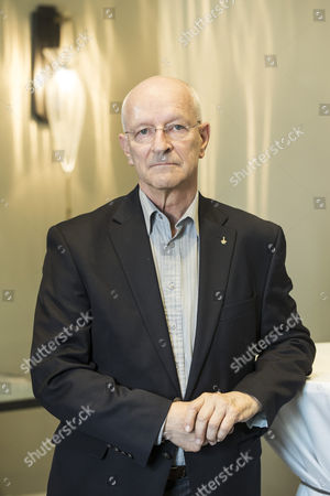 Former Swiss Astronaut Claude Nicollier Poses During a Press Conference in the Context of a Meeting at the Centre Suisse D'electronique Et Microtechnique (csem) in Bern Switzerland 09 April 2014 Switzerland Schweiz Suisse Bern