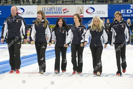 Editorial photo of Switzerland Curling European Championships - Nov 2014