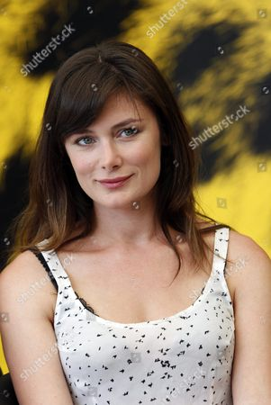 Us Film Director Kat Coiro Poses During a Photocall For the Movie 'While We Were Here' at the 65th Locarno International Film Festival in Locarno Switzerland 09 August 2012 the Film Festival Runs From 01 to 11 August Switzerland Schweiz Suisse Locarno