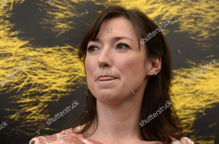British Author Charlotte Roche Poses During a Photocall For the Movie 'Feuchtgebiete' at the 66th Locarno International Film Festival in Locarno Switzerland 11 August 2013 the Festival Runs From 07 to 17 August Switzerland Schweiz Suisse Locarno