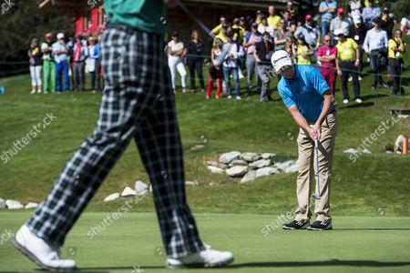 Editorial picture of Switzerland Golf European Masters 2014 - Sep 2014