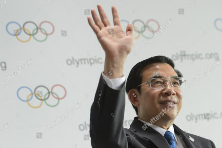 Wang Anshun President of the China Beijing 2022 Bid Committee and Mayor of Beijing During a Press Conference During the 2022 Candidate City Briefing For Ioc Members at the Olympic Museum in Lausanne Switzerland 09 June 2015 Switzerland Schweiz Suisse Lausanne