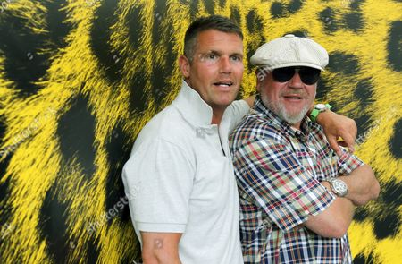 British Actor Ray Winstone (r) and British Director Nick Love Pose During the Photocall For Their Movie 'The Sweeney' During the Locarno Film Festival in Locarno Switzerland 01 August 2012 the 65th Locarno Film Festival Runs From 01 to 11 August 2012 Switzerland Schweiz Suisse Locarno