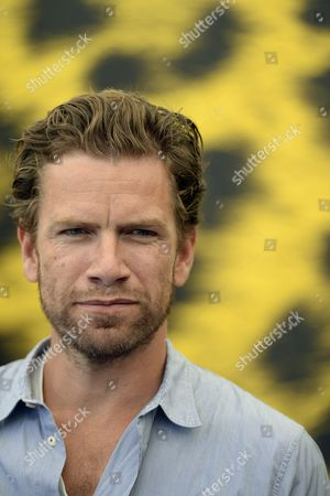 Danish Actor Nikolaj Lie Kaas Poses During the Photocall For the Movie 'The Keeper of Lost Causes - Jussi Adler-olse' at the 66th Locarno International Film Festival in Locarno Switzerland 10 August 2013 the Festival Runs From 07 to 17 August Switzerland Schweiz Suisse Locarno