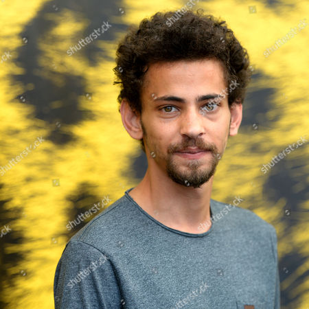 Stock Photo of Actor Tawfeek Barhom Poses During a Photocall For the Movie 'Dancing Arabs' at the 67th Locarno International Film Festival in Locarno Switzerland 07 August 2014 the Festival Runs From 06 to 16 August Switzerland Schweiz Suisse Locarno