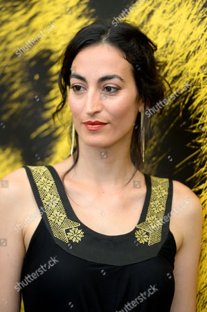 French Actress Laetitia Eido Poses During a Photocall For the Movie 'Dancing Arabs' at the 67th Locarno International Film Festival in Locarno Switzerland 07 August 2014 the Festival Runs From 06 to 16 August Switzerland Schweiz Suisse Locarno