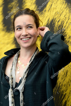 Israeli Actress Yael Abecassis Poses During a Photocall For the Movie 'Dancing Arabs' at the 67th Locarno International Film Festival in Locarno Switzerland 07 August 2014 the Festival Runs From 06 to 16 August Switzerland Schweiz Suisse Locarno