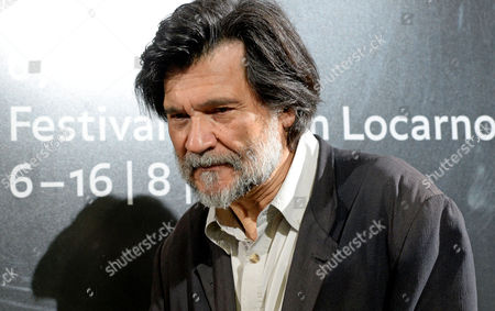 Stock Image of Spanish Director and Writer Victor Erice Attends a Photocall where He Received the 'Excellence Award' at the 67th Locarno International Film Festival in Locarno Switzerland 13 August 2014 the Festival Runs From 06 to 16 August Switzerland Schweiz Suisse Locarno