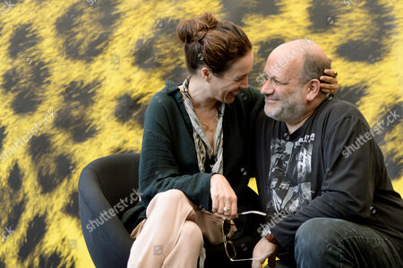 Israeli Actress Yael Abecassis (l) and Director Eran Riklis Pose During a Photocall For the Movie 'Dancing Arabs' at the 67th Locarno International Film Festival in Locarno Switzerland 07 August 2014 the Festival Runs From 06 to 16 August Switzerland Schweiz Suisse Locarno
