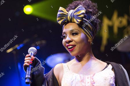 British Reggae Singer Hollie Cook Performs on the Jazz Lab Stage During the 47th Montreux Jazz Festival in Montreux Switzerland 13 July 2013 Switzerland Schweiz Suisse Montreux