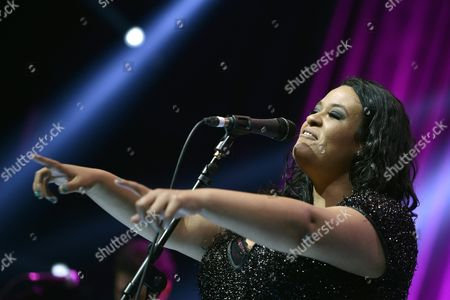 Brazilian Singer Tulipa Ruiz Performs on the Stravinski Hall Stage During the 47th Montreux Jazz Festival in Montreux Switzerland 12 July 2013 the Music Festival Runs From 05 to 20 July Switzerland Schweiz Suisse Montreux