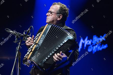 French Accordionist Richard Galliano Performs on the Auditorium Stravinski Stage at the 48th Montreux Jazz Festival in Montreux Switzerland 18 July 2014 the Festival Runs Until 19 July Switzerland Schweiz Suisse Montreux