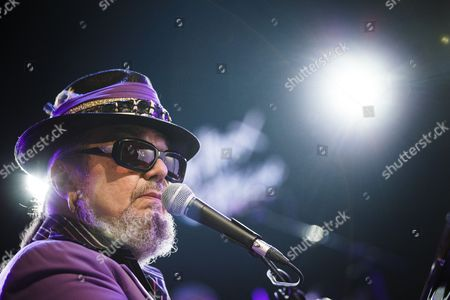 Us Musician Dr John Performs on the Stage of the Auditorium Stravinski at the 48th Montreux Jazz Festival in Montreux Switzerland 14 July 2014 Switzerland Schweiz Suisse Montreux