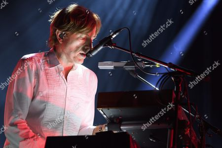 French Musician Nicolas Godin of the Musical Duo Air Performs on Stravinski Hall Stage During the 50th Montreux Jazz Festival in Montreux Switzerland 01 July 2016 Switzerland Schweiz Suisse Montreux