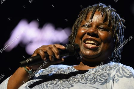 Stock Image of Us Jazz Singer Randy Crawford Performs on the Stravinski Hall Stage During the 47th Montreux Jazz Festival in Montreux Switzerland 08 July 2013 Switzerland Schweiz Suisse Montreux