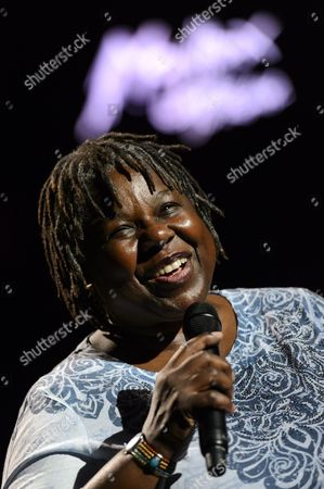 Stock Picture of Us Jazz Singer Randy Crawford Performs on the Stravinski Hall Stage During the 47th Montreux Jazz Festival in Montreux Switzerland 08 July 2013 Switzerland Schweiz Suisse Montreux