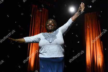Stock Photo of Us Jazz Singer Randy Crawford Performs on the Stravinski Hall Stage During the 47th Montreux Jazz Festival in Montreux Switzerland 08 July 2013 Switzerland Schweiz Suisse Montreux