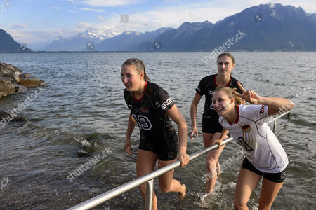 Editorial image of Switzerland Montreux Volleyball Masters - Jun 2014