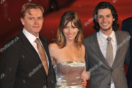 Stock Image of Stephan Elliot, Jessica Biel and Ben Barnes