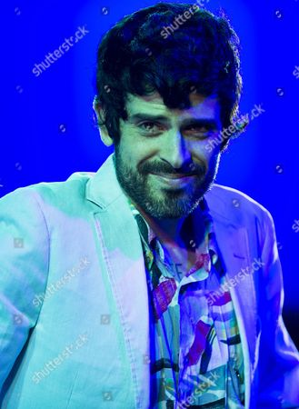 Singer Devendra Banhart From the Usa Performs at the 'Blue Balls Festival' in Lucerne Switzerland 22 July 2013 the Festival Runs From 19 to 27 July Switzerland Schweiz Suisse Lucerne