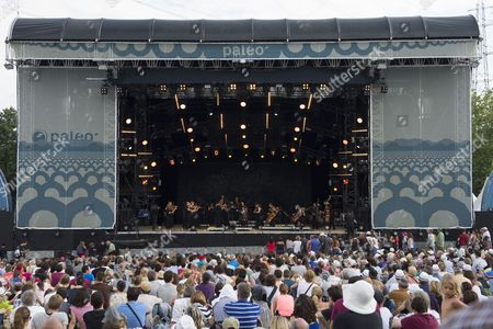 French Cellist Gautier Capucon Performs on the Les Arches Stage at the 39th Edition of the Paleo Festival in Nyon Switzerland 27 July 2014 the Paleo Open-air Music Festival the Largest in the Western Part of Switzerland with 230 000 Spectators in Six Days Will Run From 22 to 27 July 2014 Switzerland Schweiz Suisse Nyon
