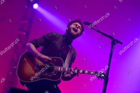 British Singer Mike Rosenberg Aka Passenger Performs During His Concert at the Blue Balls Festival in Lucerne Switzerland 19 July 2014 the Festival Runs From 18 to 26 July Switzerland Schweiz Suisse Lucerne