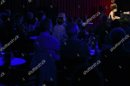 Stock Photo of Japanese Jazz Composer and Pianist Hiromi Uehara Performs on the Stage of the Jazz Club at the 48th Montreux Jazz Festival in Montreux Switzerland 11 July 2014 the Festival Runs Until 19 July Switzerland Schweiz Suisse Montreux