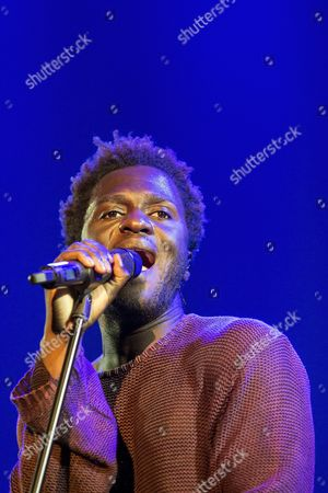 British-ghanaian Singer-songwriter Kwabena Sarkodee Adjepong Aka Kwabs Performs During His Concert at the Blue Balls Festival in Lucerne Switzerland 27 July 2016 the Music Event Runs From 22 to 30 July Switzerland Schweiz Suisse Lucerne