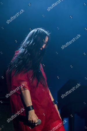 American Singer Songwriter Zola Jesus Performs During Her Concert at the Blue Balls Festival in Lucerne Switzerland 25 July 2016 the Music Event Runs From 22 to 30 July Switzerland Schweiz Suisse Lucerne