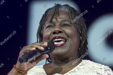 Us Singer Randy Crawford Performs on Stage at the Baloise Session Music Event in Basel Switzerland 12 November 2013 Switzerland Schweiz Suisse Basel