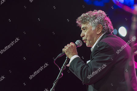 Jamaican Born Musician Monty Alexander Introduces His Band on Stage During a Concert at the Baloise Session in Basel Switzerland 11 November 2014 Switzerland Schweiz Suisse Basel