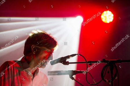 French Musician Nicolas Godin of the of the Musical Duo 'Air' Performs During Their Concert at the Blue Balls Festival in Lucerne Switzerland Late 22 July 2016 the Music Event Runs From 22 to 30 July Switzerland Schweiz Suisse Luzern