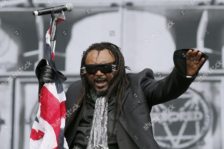 Benji Webbe Singer of Welsh Rock Band Skindred Performs on the Main Stage at the Greenfield Festival in Interlaken Switzerland 08 June 2016 the Openair Music Event Runs From 08 to 11 June Switzerland Schweiz Suisse Interlaken