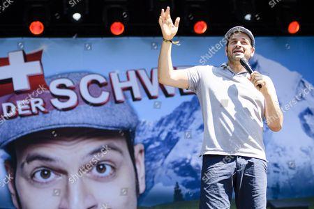German Comedian and Tv Presenter Kaya Yanar Performs at the Gurten Music Open Air Festival in Bern Switzerland 17 July 2016 the Gurtenfestival Runs From 14 to 17 July Switzerland Schweiz Suisse Bern