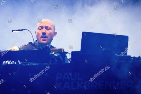 Stock Photo of German Dj Paul Kalkbrenner Performs at the Gurten Music Open Air Festival in Bern Switzerland 17 July 2016 the Gurtenfestival Runs From 14 to 17 July Switzerland Schweiz Suisse Bern