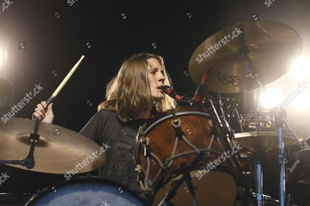 Leah Shapiro Drummer of the Us Rock Band 'Black Rebel Motorcycle Club' Performs at the Gurten Music Open Air Festival in Bern Switzerland 18 July 2013 Switzerland Schweiz Suisse Bern