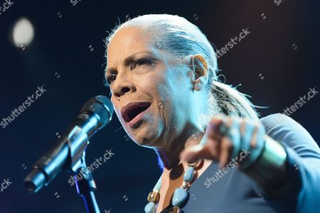Us Singer Patti Austin Performs on the Stage of the Auditorium Stravinski During a Show Organized by U S Music Producer Quincy Jones at the 50th Montreux Jazz Festival in Montreux Switzerland 08 July 2016 the Music Festival Runs From 01 to 16 July Switzerland Schweiz Suisse Montreux
