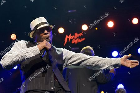 Us Singer Al Jarreau Performs on the Stage of the Auditorium Stravinski During a Show Organized by U S Music Producer Quincy Jones at the 50th Montreux Jazz Festival in Montreux Switzerland 08 July 2016 the Music Festival Runs From 01 to 16 July Switzerland Schweiz Suisse Montreux