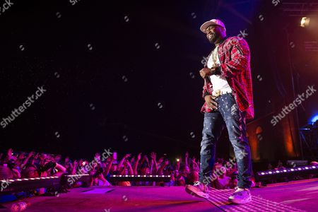Curtis James Jackson Iii Aka '50 Cent' of the Us Performs During the Openair Frauenfeld Music Festival in Frauenfeld Switzerland 08 July 2016 the Event Takes Place From 07 to 09 July Switzerland Schweiz Suisse Frauenfeld