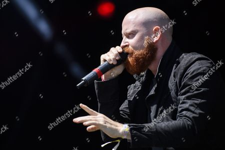 Michael Barnes Frontsinger From the Us Band 'Red' Performs at the Music Open Air Festival in Gampel Switzerland 21 August 2016 the Annual Festival Runs From 18 to 21 August Switzerland Schweiz Suisse Gampel