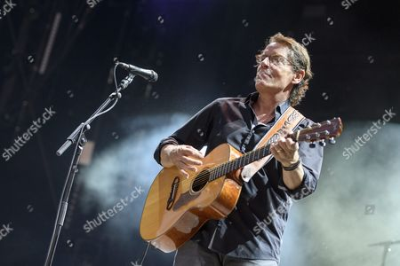 French Singer Francis Cabrel Performs on the Main Stage During the 41st Paleo Festival in Nyon Switzerland 21 July 2016 the Paleo Open-air Music Festival the Largest in the Western Part of Switzerland with 230'000 Spectators in Six Days Runs From 19 to 24 July 2016 Switzerland Schweiz Suisse Nyon