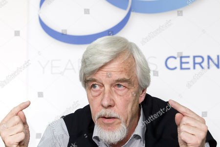 German Rolf-dieter Heuer Director General of European Organization For Nuclear Research (cern) Informs to the Media About to Celebration Cern's 60th Anniversary During a Press Conference at the Geneva Press Club in Geneva Switzerland 01 September 2014 Switzerland Schweiz Suisse Geneva