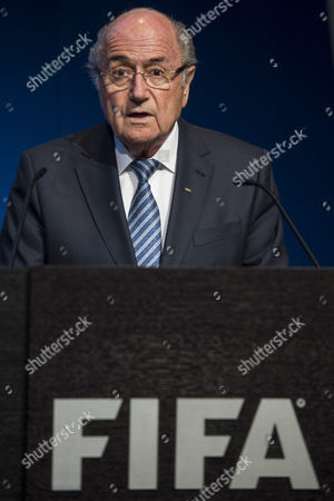 Fifa President Joseph S Blatter Speaks During a Press Conference at the Fifa Headquarters in Zurich Switzerland 02 June 2015 Fifa President Joseph Blatter Intends to Resign Calls an Extraordinary Congress to Elect His Successor He Announced at the News Conference Switzerland Schweiz Suisse Zurich