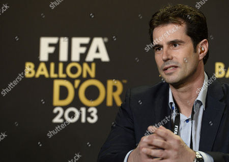 Ralf Kellermann of Germany One of the Nominees For the World Coach of the Year For Women's Football Answers Journalists Questions During a Press Conference at the Fifa Ballon D'or Awarding Ceremony at the Kongresshaus in Zurich Switzerland 13 January 2014 Switzerland Schweiz Suisse Zurich