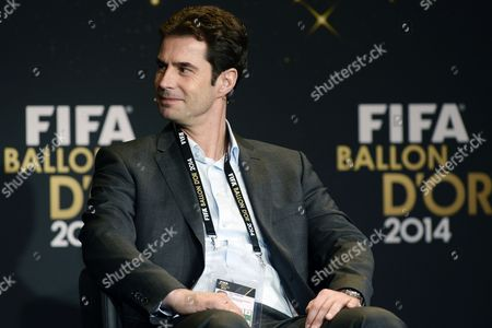 Germany's Ralf Kellermann of German Bundesliga Side Vfl Wolfsburg One of the Nominees of the Women's World Coach of the Year Attends a Press Conference Prior to the Fifa Ballon D'or Awarding Ceremony in Zurich Switzerland 12 January 2015 Switzerland Schweiz Suisse Zurich