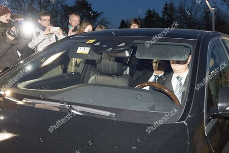 Fifa President Joseph S Blatter Leaves in a Car the Fifa Headquarters in Zurich Switzerland 17 December 2015 the Fate of Fifa President Joseph Blatter Hangs in the Balance As His Hearing in Front of the World Soccer Governing Body's Ethics Committee Started 17 December While 50 Swiss Bank Accounts of Current and Former Fifa Officials Have Been Frozen Switzerland Schweiz Suisse Zurich