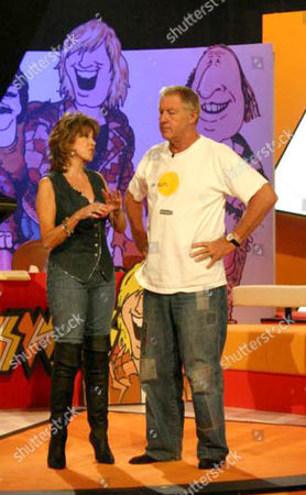 'Tiswas Reunited'  - Sally James and Chris Tarrant