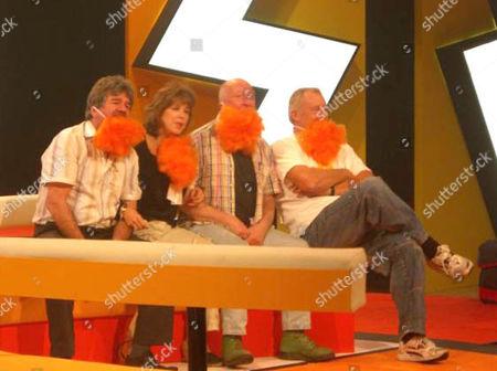 'Tiswas Reunited'   - Bob Carolgees, Sally James, Chris Tarrant and John Gorman